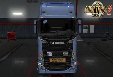 Signs on your Truck v1.0.94 by Tobrago
