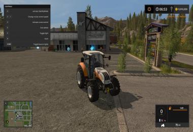 Steyr 4115 Multi Ecotronik Tractor v1