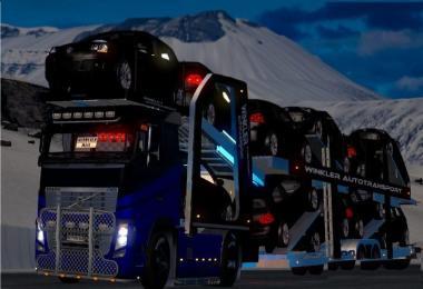 Volvo FH 2009 Autotransporter/ Carcarrier v1.0