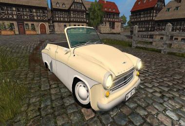 Wartburg 311 Cabrio v1.0