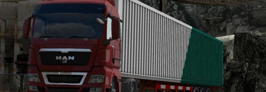 16 Meter Dynamic Container Trailer 1.31