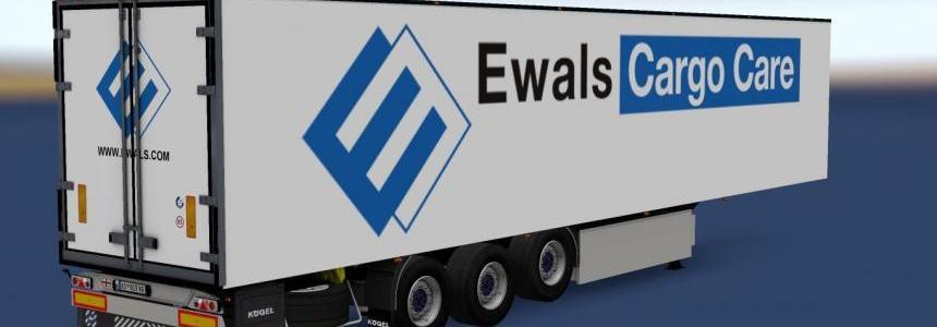 Kogel Trailer Ewals Cargo Care v1.0