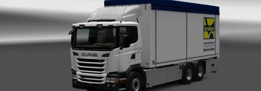 Kraker/NTM/Ekeri Tandem Addon For Scania G Series v1.0