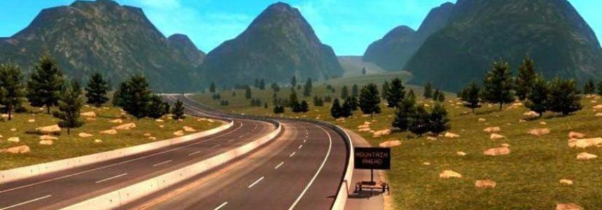 CanaDream Map v2.6.1 by ManiaX 1.31.x for ATS