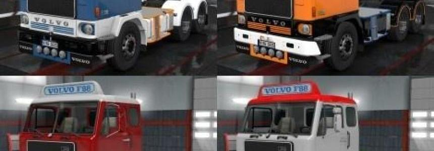 4 Colours changeable Paint Job for Volvo F88 v1.0