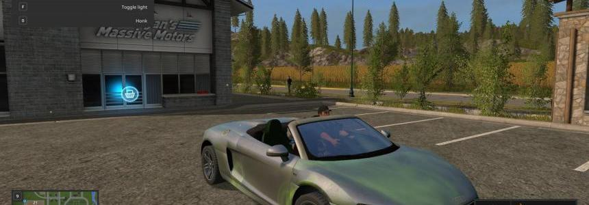 Audi R8 Spyder Green Decal v1.0