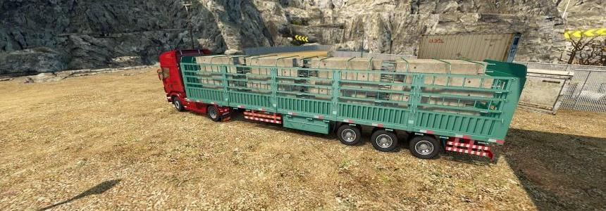 Chinese Concrete Founddations Trailer Fixed v1.0
