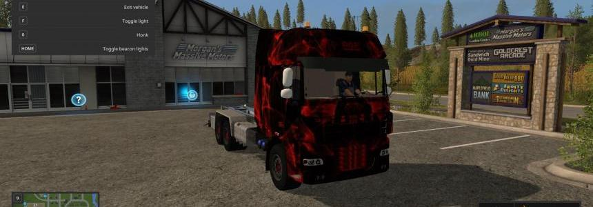 DAF Black and Red v1.0