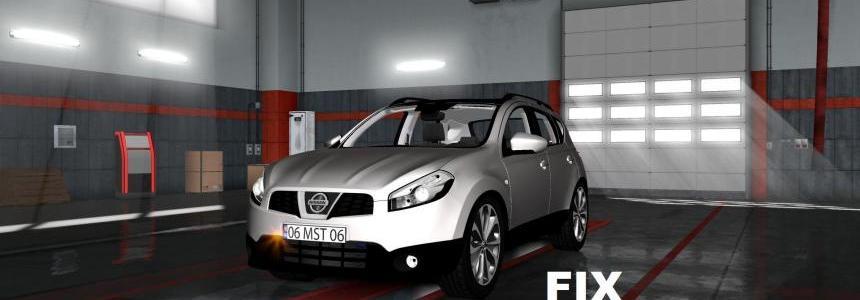 Fix for the car Nissan Qashqai 2010 v1.0