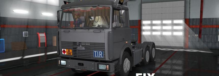 Fix for truck Maz 6422 v1.0