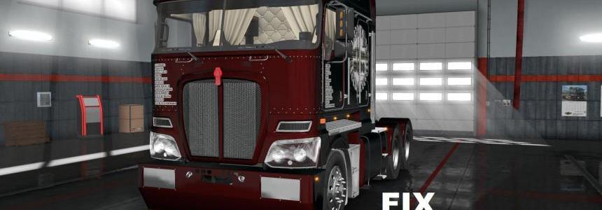 Fixed for truck Kenworth K200 v1.0