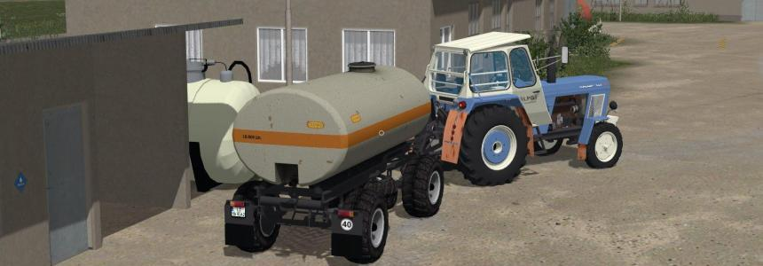 Fortschritt HW80 chassis with water tank v1.0