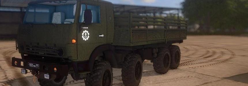 Kamaz 6350 Pack Reworked v1.0
