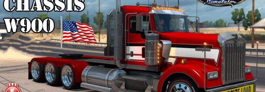 Kenworth W900 Tri-Drive by Bu5ted 1.31.x