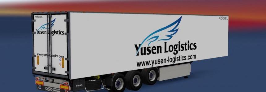 Kogel Trailer Skin Yusen Logistics v1.0