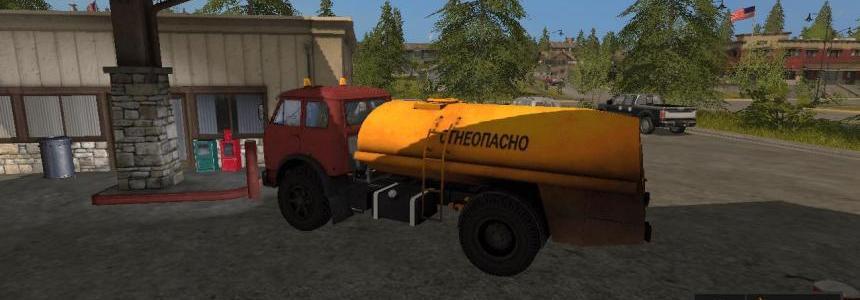 MAZ-500 Petrol truck v2.2