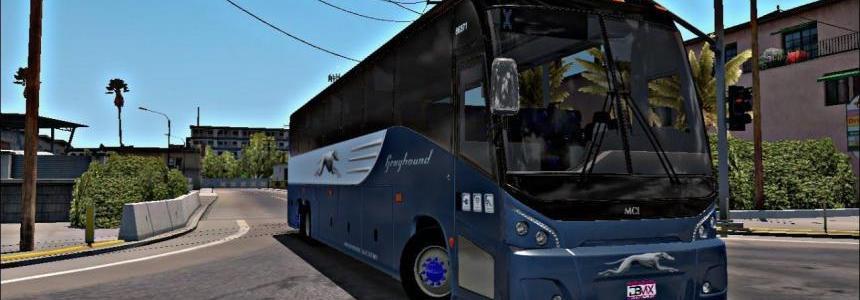 MCI J4500 + Interior v2.0 Bus 1.31.x