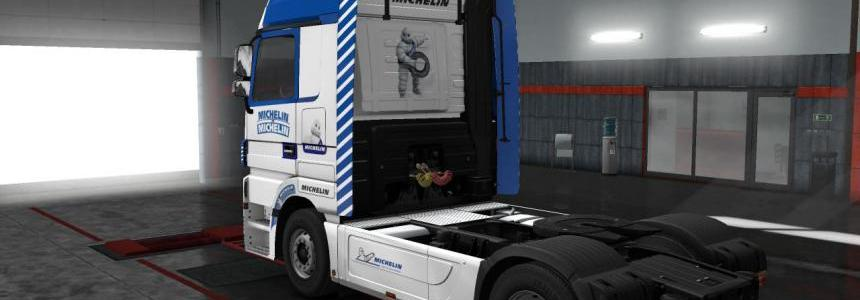 Mercedes Actros - Michelin v1.0