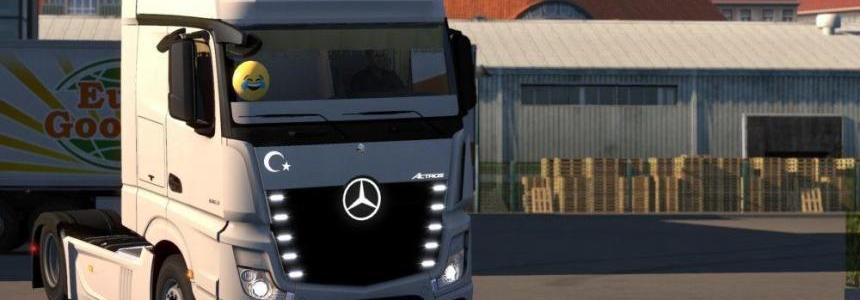 Mercedes Benz Actros Tuning 1.31.x