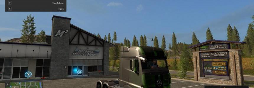Mercedes-Benz LKW Green Neon v1.0