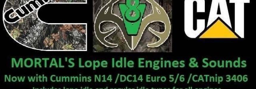 MORTAL'S LOPE IDLE ENGINES & SOUNDS ATS&ETS2 v6.4