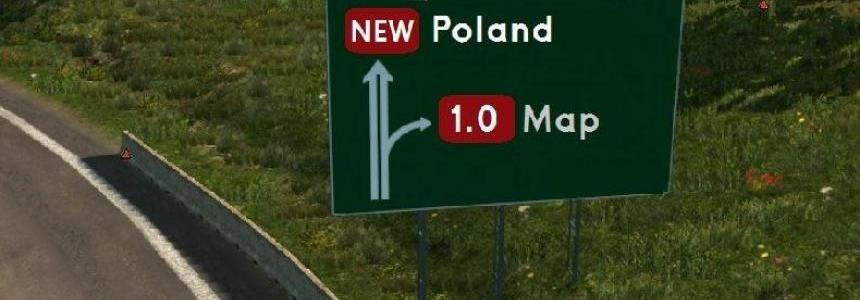New Poland Map v1.0