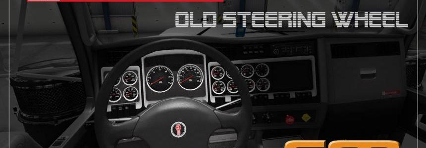 Old Kenworth Steering Wheel model for ATS 1.31.x