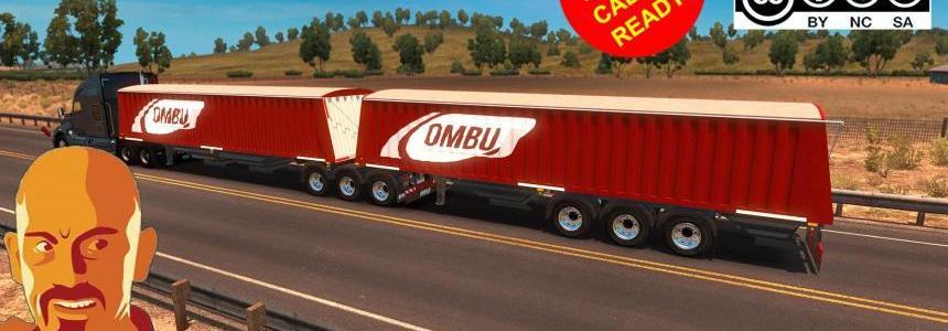 OMBU BI-TRAIN TRAILER (SINGLE & DOUBLE) ATS 1.31.x