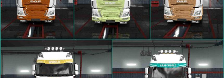 Pack My Name v0.1.5 Skin For ETS2 1.31 + DLC