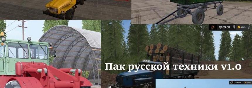 Pack Rus Technik v1.0