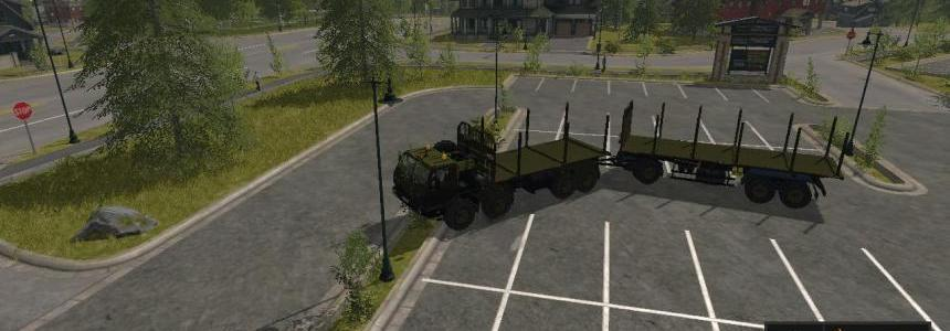 Pack Kraz 7E-6316 Siberia 8x8 v1.1