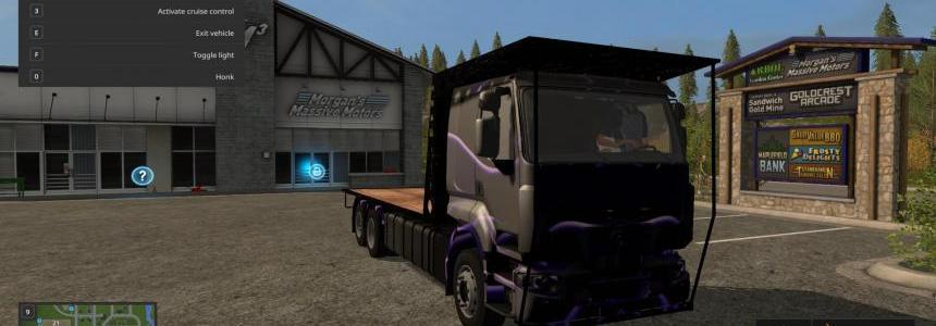 Renault Bale Blue Tribal v1.0