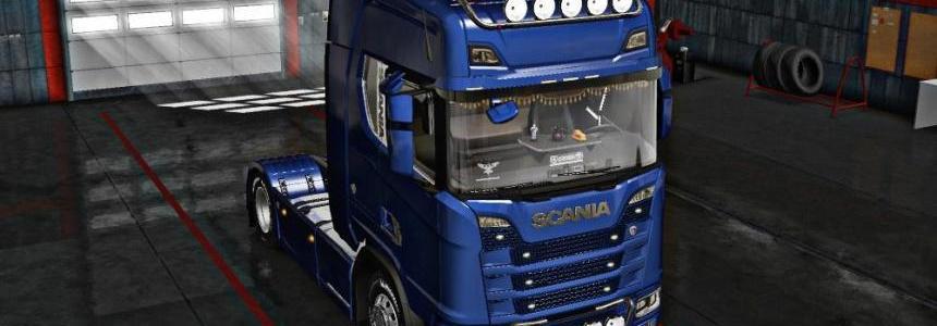 Scania S Series + Interior v2.0