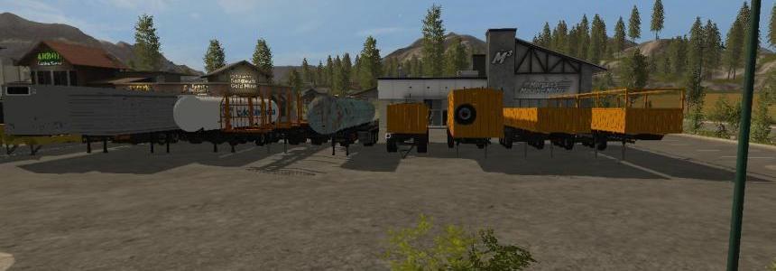 Semi-trailers for Kraz v1.3