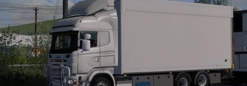 Tandem Addon for RJL Scania RS & r4 by Kast v1.8
