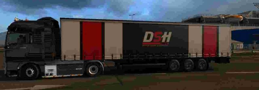Trailer DSH Transport Aga For ETS2 1.30