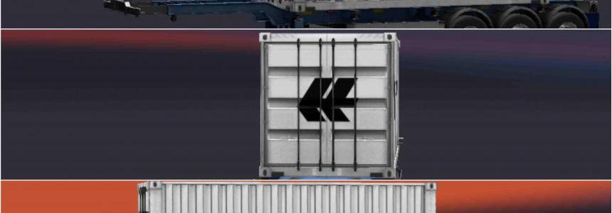 Trailer Hapag-Lloyd For ETS2 1.30