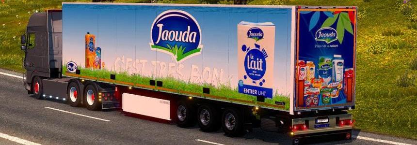Trailer Jaouda Company For ETS2 1.30
