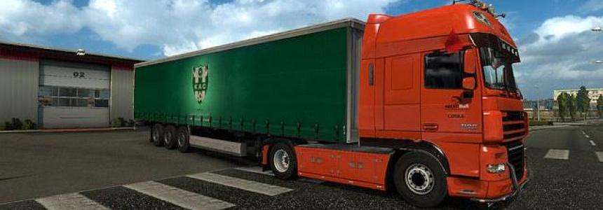 Trailer K.A.C For ETS2 1.30
