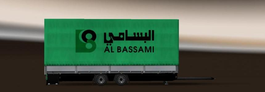 Trailer Tandem Al Bassami Transport v1.0 For ETS2 1.31