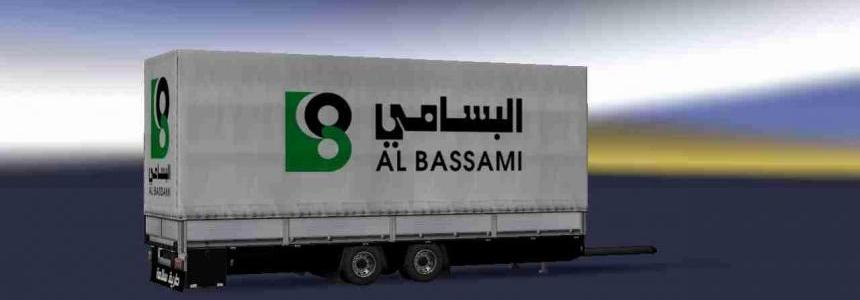 Trailer Tandem Al Bassami Transport V2 For ETS2 1.31