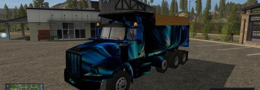 Twinstar Tri Axle Dump Truck v1.0