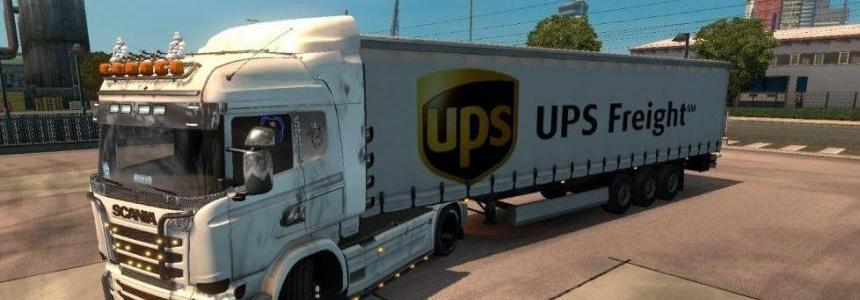UPS Cargo Trailer v1.0