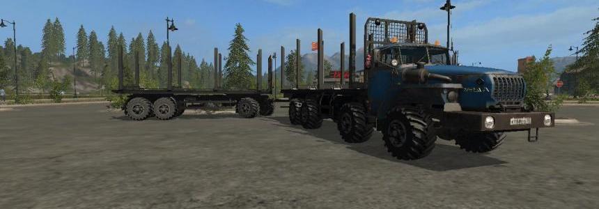 URAL 6614 8X8 FOREST v1.1