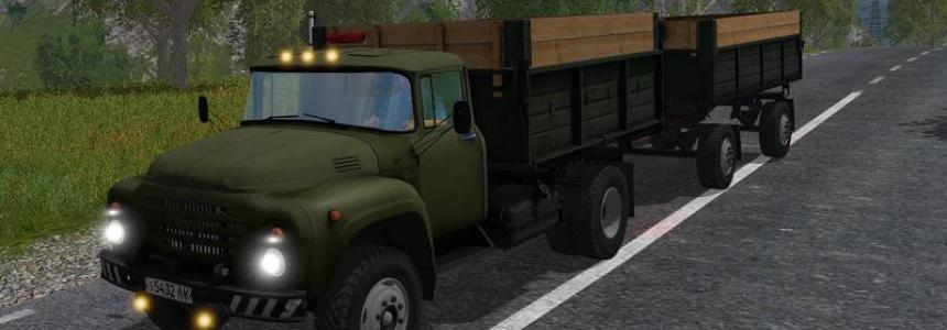 ZIL 130 and Trailer GKB v1.1