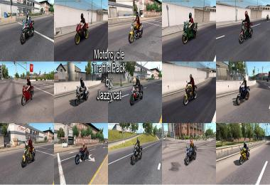 Motorcycle Traffic Pack by Jazzycat v1.2