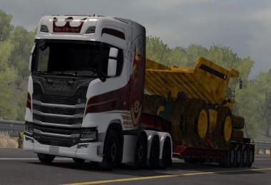 Scania Trucks Mod v1.7 1.31.x