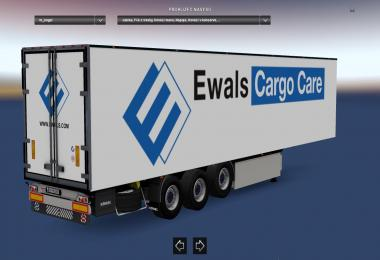 Kogel Trailer Ewals Cargo Care v1.0