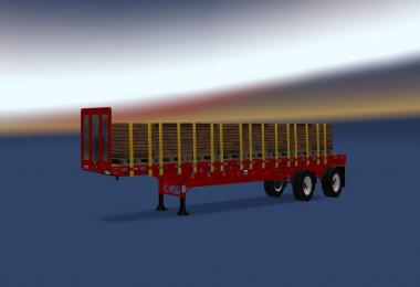 48FT Manac Flatbed Trailer v1.1