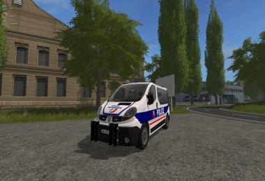 RENAULT TRAFIC POLICE NATIONAL v1.0